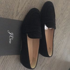 J. Crew Shoes - J Crew Black Charlie Penny Loafers